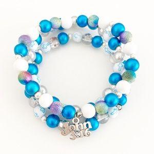Handmade Bead Bracelets for Women-Christian Gift